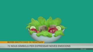 Les noves emoticones de Whatsapp