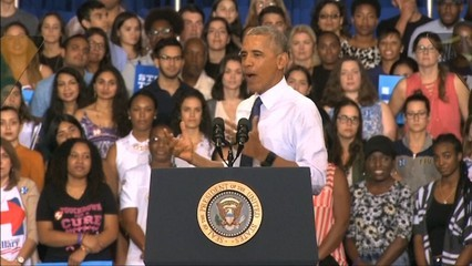 Obama intensifica campanya a Florida on Trump ha fet el sorpasso