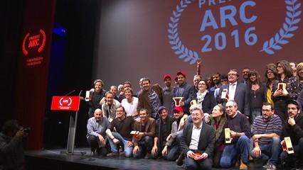 Els guanyadors dels Premis ARC 2016
