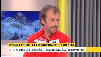 Ferran Latorre, a la conquesta de l'Everest, el catorzè i últim 8.000