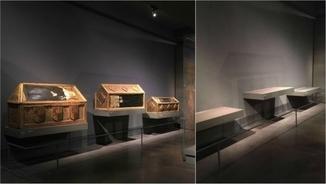 Caixes sepulcrals de Sixena datades del segle XV