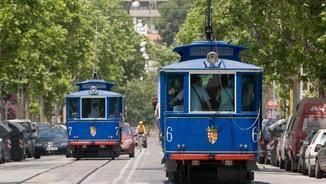 """El Tramvia Blau és """"l'únic supervivent"""" de l'antiga xarxa de tramvies de Barcelona"""