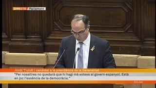 """Jordi Turull: """"És hora d'abordar un pla de govern pensat en favor de tots els catalans, sense excepció"""""""