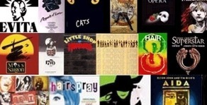 Collage. Musicals famosos