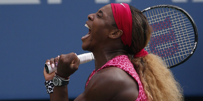 Serena Williams, eufòrica pel seu pas a la final de l'Open EUA. (Foto: Reuters)