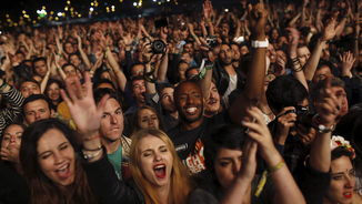 Públic del concert de The Black Keys al Primavera Sound (EFE)