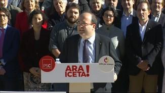 """Iceta: """"A partir d'avui, el PSC no podrà mirar de la mateixa manera la gent dels comuns"""""""
