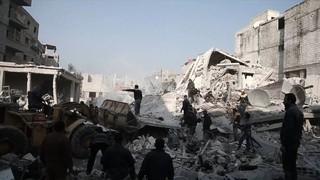 El règim sirià i l'aviació russa han causat més de 170 morts en els 10 primers dies de l'any a Ghouta