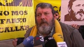 Manel Riu, aquest dijous, després de declarar davant el jutge