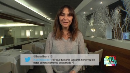 """""""La televisió és cultura"""", amb Melani Olivares"""