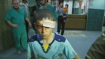 Nous bombardejos a Gaza