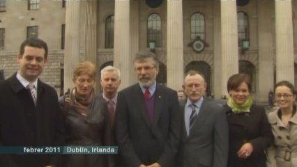 Gerry Adams, detingut