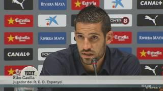 Kiko Casilla, amo de la porteria de l'Espanyol fins al 2018