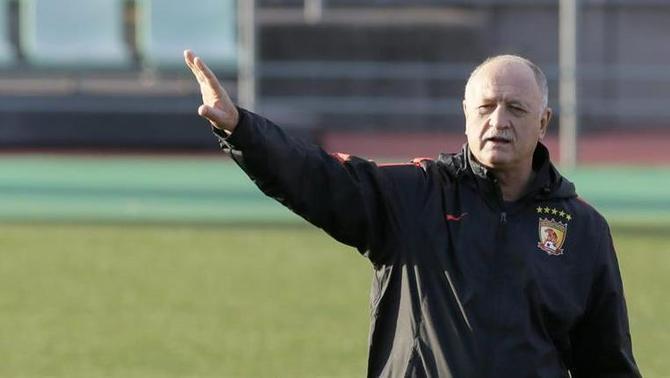 Scolari dirigeix actualment l'equip xinès Guangzhou Evergrande (EFE)