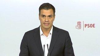 Pedro Sánchez planta cara als crítics. Compareixença íntegra