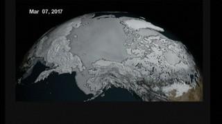 Mínims històrics de gel marí als dos pols