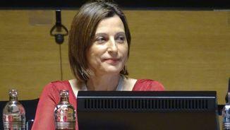 Carme Forcadell, presidenta del Parlament de Catalunya