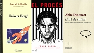 David Guzman i els llibres d'actualitat: Tintin, Kafka i l'art de callar