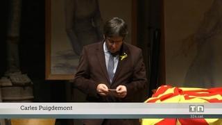 Un mes de Puigdemont a Brussel·les