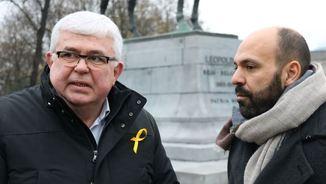 Agustí Alcoberro i Marcel Mauri (ACN)