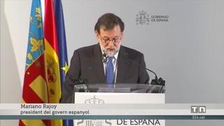 El primer AVE a Castelló arriba amb Rajoy i mitja hora de retard