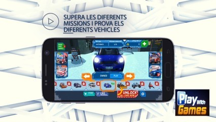 App Ski Resort Driving Simulator