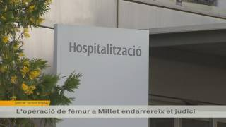 Millet, operat a Hospital Granollers