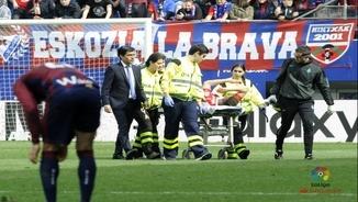 Óscar Duarte, lesionat