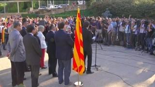 Puigdemont apel·la als valors que encarnava Companys per guiar la resposta a l'Estat