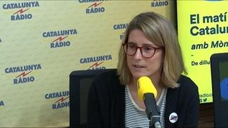 """La diputada de Junts per Catalunya Elsa Artadi a """"El matí de Catalunya Ràdio"""""""