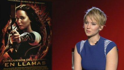 "Jennifer Lawrence estrena la segona part de ""Los juegos del hambre"""