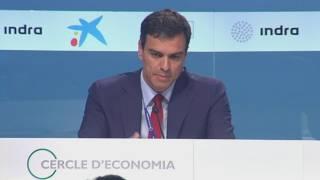 Pedro Sánchez al Cercle d'Economia