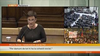 """Marta Ribas (CSQEP): """"Per damunt de tot hi ha la cohesió social"""""""