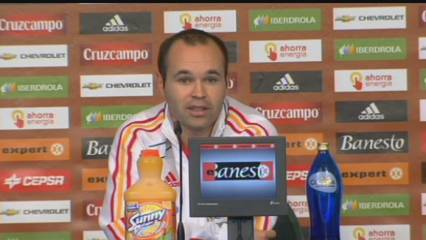 Iniesta, optimista