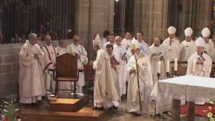 Presa de possessió del nou bisbe de Tortosa