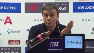 Luis Enrique parla de la situació de Montoya