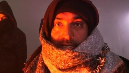 L'onada de fred posa en risc la salut dels refugiats atrapats a Sèrbia