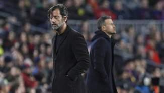 Quique Sánchez Flores i Luis Enrique