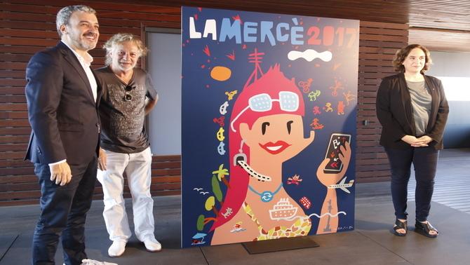 Mariscal il·lustra el cartell de la Mercè del 2017, que tindrà com a pregonera la filòsofa Marina Garcés