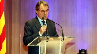 Artur Mas, en una imatge d'arxiu de l'octubre (ACN)
