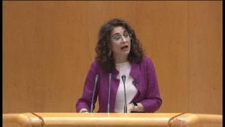 Montero justifica el suport del PSOE als pressupostos per evitar que Espanya es paralitzi