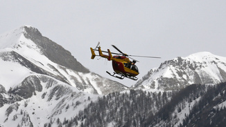 Germanwings. Accident Aeri. Helicòpter de rescat