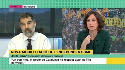 """Entrevista a Jordi Cuixart, president d'Òmnium Cultural: """"Sortirem al carrer per defensar el que és bàsic, la democràcia"""""""