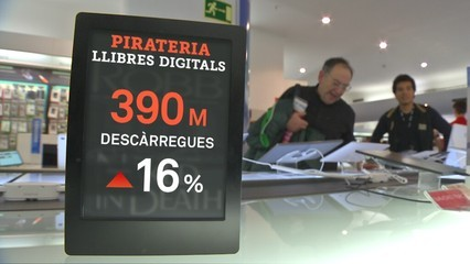 Els editors reclamen mesures contra la pirateria digital