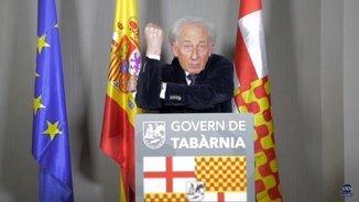 Vídeo d'Albert Boadella com a president tabarnès a l'exili