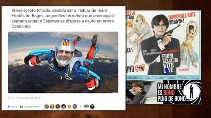 Les paròdies sobre la investidura de Puigdemont inunden la xarxa