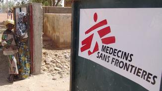 Un centre mèdic de Metges Sense Fronteres a Mali (Reuters)