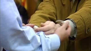 Detingut un home i el seu fill pel doble crim del pantà de Susqueda