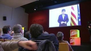 Puigdemont carrega contra Llarena