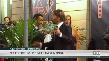 """""""El foraster"""" recull el premi Ondas"""